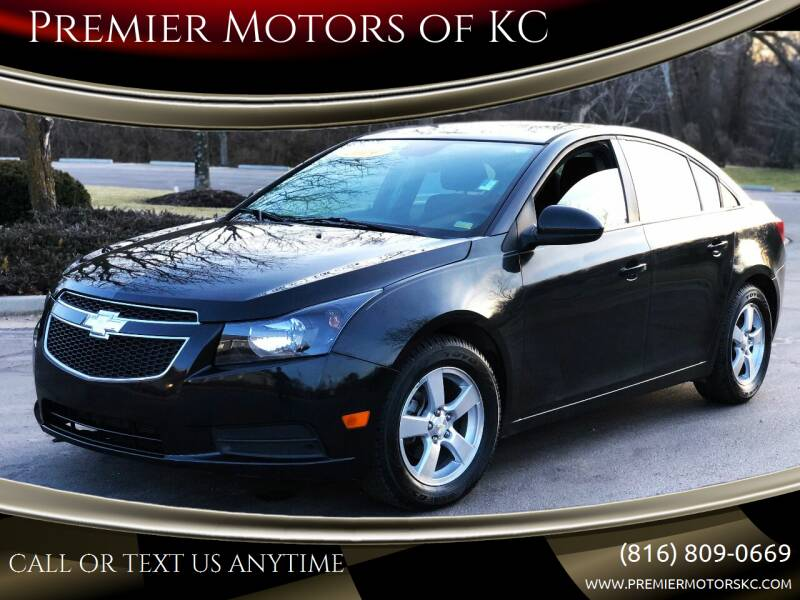 2014 Chevrolet Cruze for sale at Premier Motors of KC in Kansas City MO