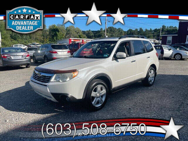 2009 Subaru Forester for sale at J & E AUTOMALL in Pelham NH