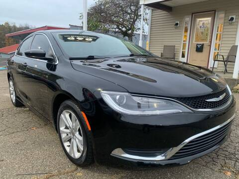 2016 Chrysler 200 for sale at G & G Auto Sales in Steubenville OH
