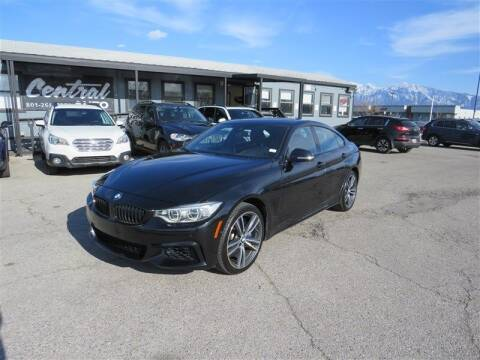 2016 BMW 4 Series for sale at Central Auto in South Salt Lake UT