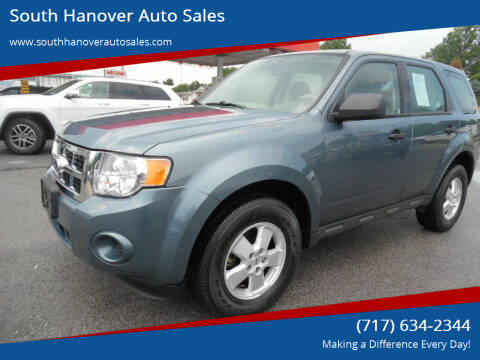 2010 Ford Escape for sale at South Hanover Auto Sales in Hanover PA