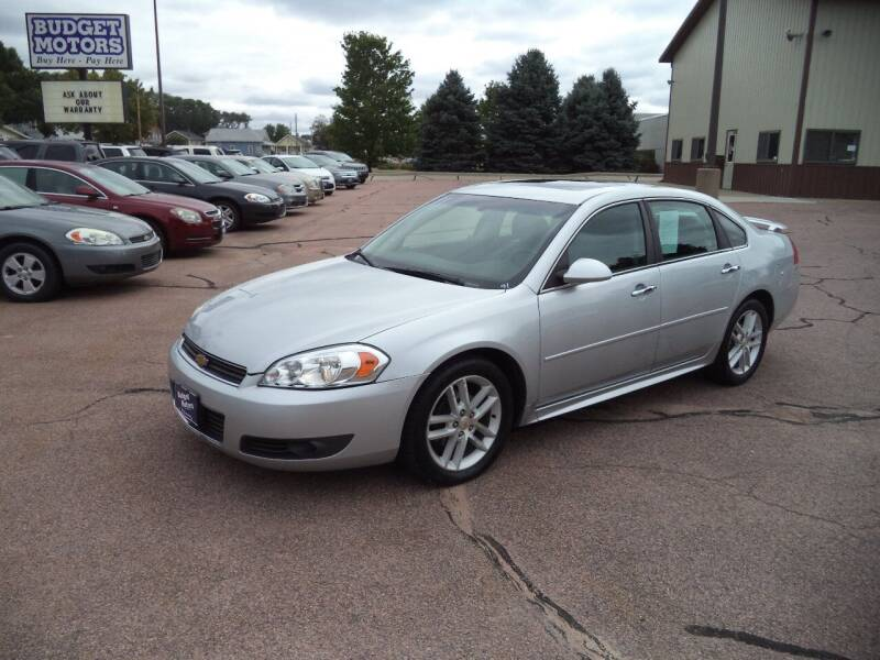2011 Chevrolet Impala for sale at Budget Motors - Budget Acceptance in Sioux City IA