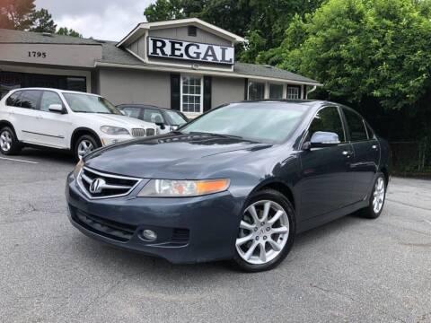 2006 Acura TSX for sale at Regal Auto Sales in Marietta GA