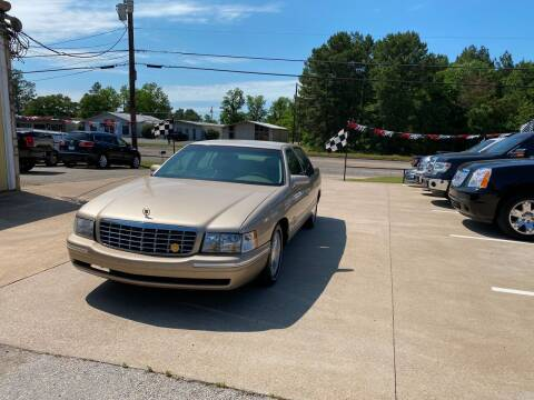 1998 Cadillac DeVille for sale at Preferred Auto Sales in Tyler TX
