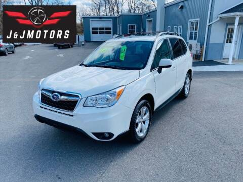 2016 Subaru Forester for sale at J & J MOTORS in New Milford CT
