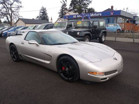 2004 Chevrolet Corvette for sale at All American Motors in Tacoma WA