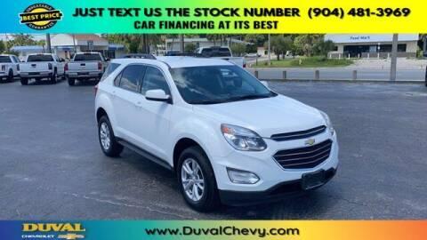 2016 Chevrolet Equinox for sale at Duval Chevrolet in Starke FL