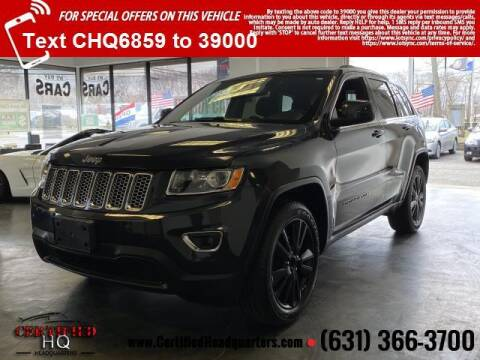 2014 Jeep Grand Cherokee for sale at CERTIFIED HEADQUARTERS in St James NY
