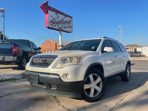 2011 GMC Acadia for sale at Southwest Car Sales in Oklahoma City OK