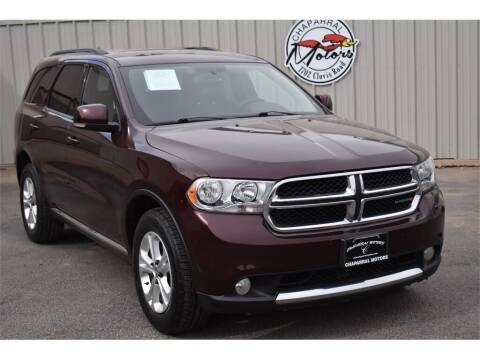 2012 Dodge Durango for sale at Chaparral Motors in Lubbock TX