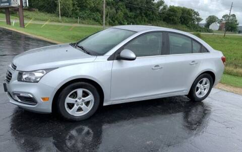 2016 Chevrolet Cruze Limited for sale at Jones Chevrolet Buick Cadillac in Richland Center WI