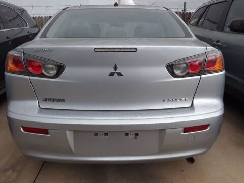 2015 Mitsubishi Lancer for sale at Auto Haus Imports in Grand Prairie TX