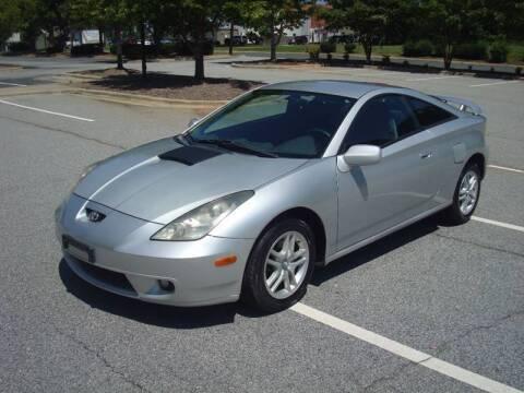 2002 Toyota Celica for sale at Uniworld Auto Sales LLC. in Greensboro NC
