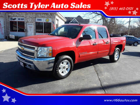 2012 Chevrolet Silverado 1500 for sale at Scotts Tyler Auto Sales in Wilmington IL
