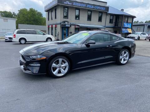 2019 Ford Mustang for sale at Sisson Pre-Owned in Uniontown PA