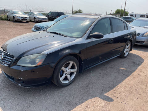 2005 Nissan Altima for sale at PYRAMID MOTORS - Fountain Lot in Fountain CO