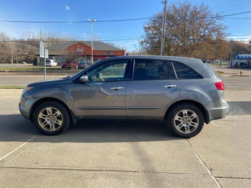 2008 Acura MDX for sale at RIVERSIDE AUTO SALES in Sioux City IA