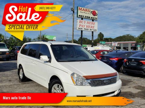 2012 Kia Sedona for sale at Mars auto trade llc in Kissimmee FL