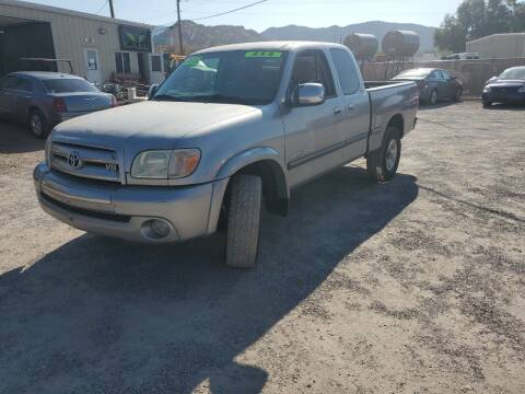 2006 Toyota Tundra for sale at Canyon View Auto Sales in Cedar City UT