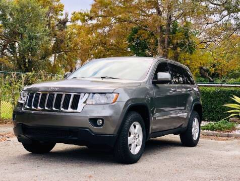 2012 Jeep Grand Cherokee for sale at Sunshine Auto Sales in Oakland Park FL