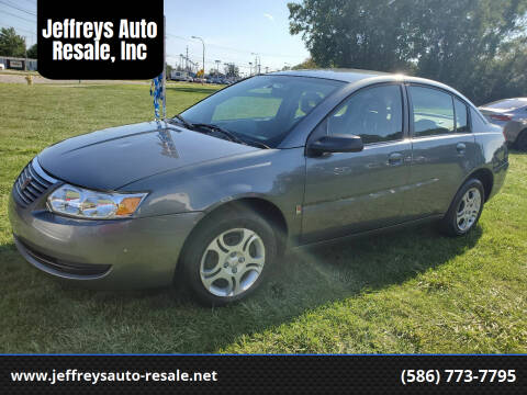 2005 Saturn Ion for sale at Jeffreys Auto Resale, Inc in Clinton Township MI