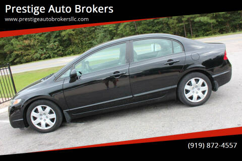 2011 Honda Civic for sale at Prestige Auto Brokers in Raleigh NC