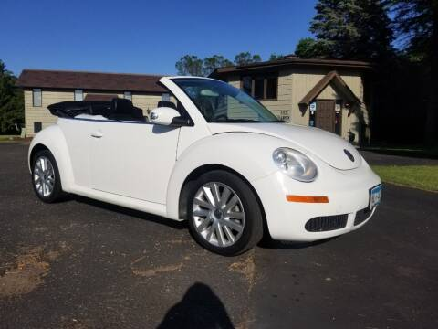 2010 Volkswagen New Beetle Convertible for sale at Shores Auto in Lakeland Shores MN