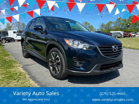 2016 Mazda CX-5 for sale at Variety Auto Sales in Abingdon VA