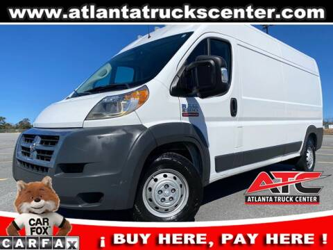 2017 RAM ProMaster Cargo for sale at ATLANTA TRUCK CENTER LLC in Brookhaven GA