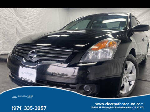 2007 Nissan Altima for sale at CLEARPATHPRO AUTO in Milwaukie OR