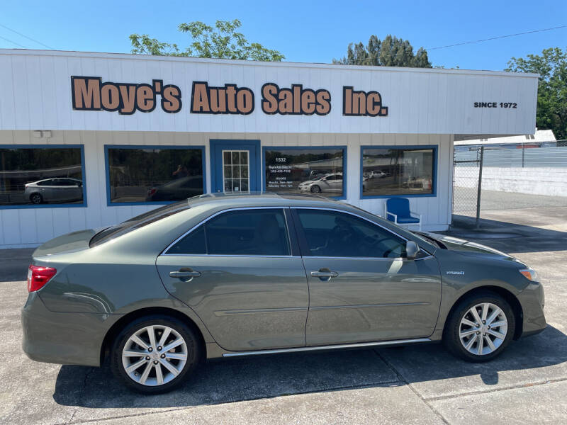 2012 Toyota Camry Hybrid for sale at Moye's Auto Sales Inc. in Leesburg FL