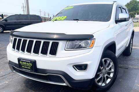 2015 Jeep Grand Cherokee for sale at Island Auto in Grand Island NE