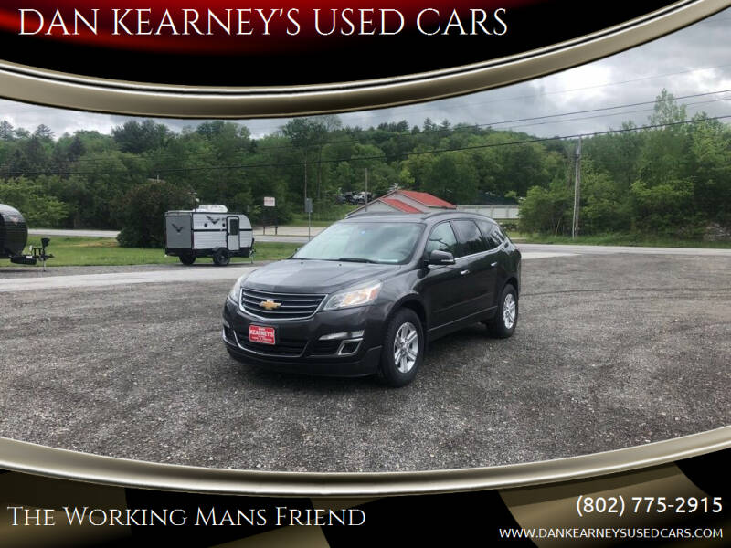 2014 Chevrolet Traverse for sale at DAN KEARNEY'S USED CARS in Center Rutland VT