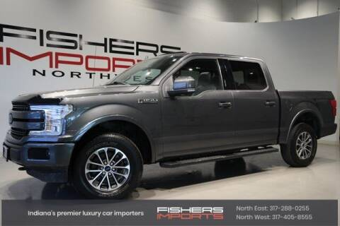 2018 Ford F-150 for sale at Fishers Imports in Fishers IN