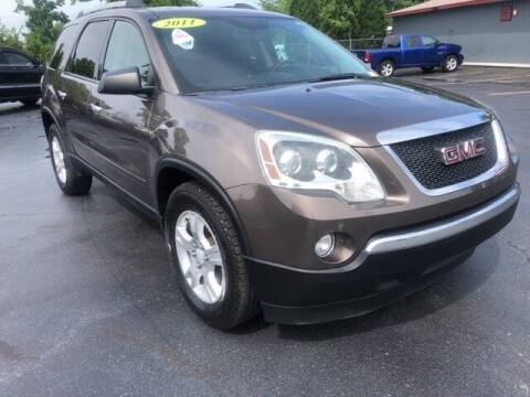 2011 GMC Acadia for sale at Newcombs Auto Sales in Auburn Hills MI