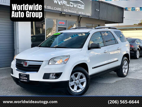 2008 Saturn Outlook for sale at Worldwide Auto Group in Auburn WA