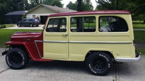 1962 Willys Wagon for sale at Classic Car Deals in Cadillac MI