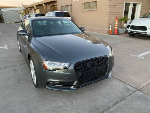 2014 Audi A5 for sale at CONTRACT AUTOMOTIVE in Las Vegas NV