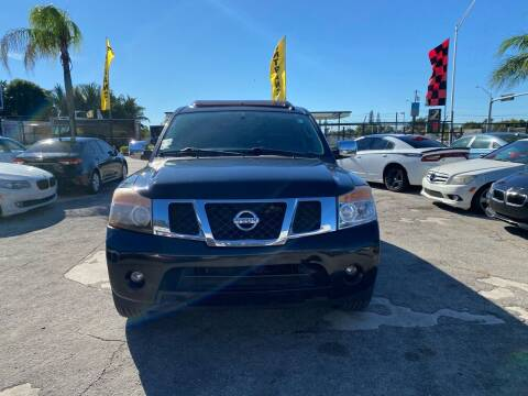 2010 Nissan Armada for sale at America Auto Wholesale Inc in Miami FL