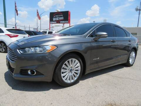2015 Ford Fusion Hybrid for sale at Moving Rides in El Paso TX