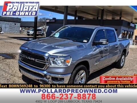 2021 RAM Ram Pickup 1500 for sale at South Plains Autoplex by RANDY BUCHANAN in Lubbock TX