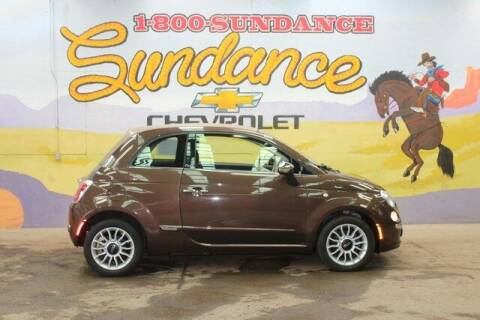 2014 FIAT 500c for sale at Sundance Chevrolet in Grand Ledge MI