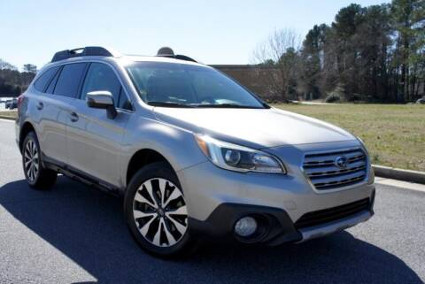 2015 Subaru Outback for sale at CU Carfinders in Norcross GA