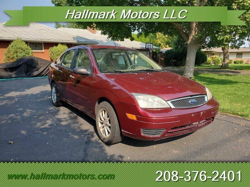 2007 Ford Focus for sale at HALLMARK MOTORS LLC in Boise ID