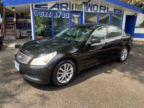 2007 Infiniti G35 for sale at Car World Inc in Arlington VA