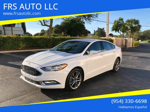 2017 Ford Fusion for sale at FRS AUTO LLC in West Palm Beach FL