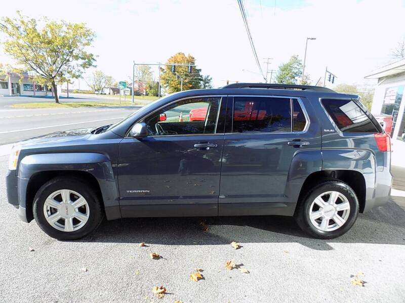 2014 GMC Terrain for sale at SUMMIT TRUCK & AUTO INC in Akron NY