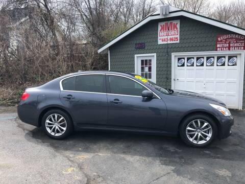 2007 Infiniti G35 for sale at KMK Motors in Latham NY