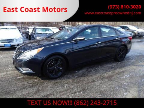 2012 Hyundai Sonata for sale at East Coast Motors in Lake Hopatcong NJ