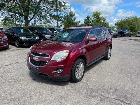 2011 Chevrolet Equinox for sale at Dean's Auto Sales in Flint MI